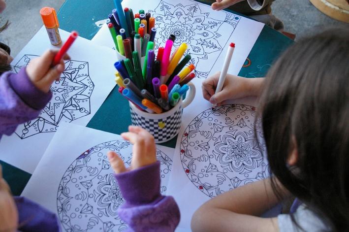 Actividad para niños – El Jardín del Dharma